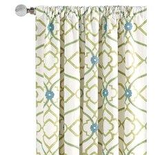Bradshaw Cotton Rod Pocket  Curtain Panel