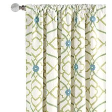 Bradshaw Cotton Rod Pocket  Curtain Single Panel