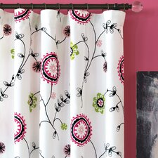 Talulla Cotton Rod Pocket  Curtain Single Panel