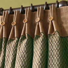 <strong>Eastern Accents</strong> Sullivan Pleated Curtain Single Panel