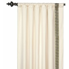 Abernathy Rod Pocket Curtain Single Panel