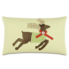 Seasonally Chic Reindeer McQueen Pillow