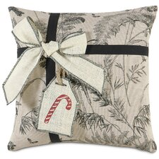 Fa La La Peppermint Present Pillow