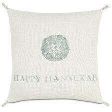 Coastal Tidings Happy Hannukah Pillow