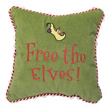 """Free the Elves"" Pillow"