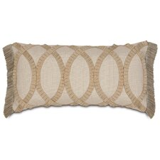 <strong>Eastern Accents</strong> Rayland Polyester Vivo Decorative Pillow with Pleated Ribbon