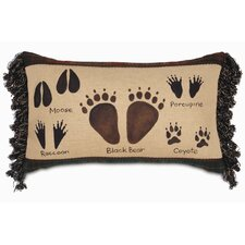 Reynolds Polyester Animal Tracks Decorative Pillow