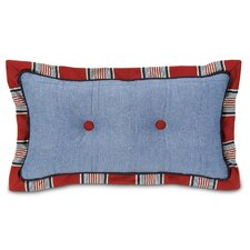<strong>Eastern Accents</strong> Carter Polyester Dune Denim Tufted Decorative Pillow