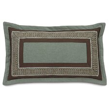 Cambium Polyester Leon Fern Decorative Pillow with Border and Flange