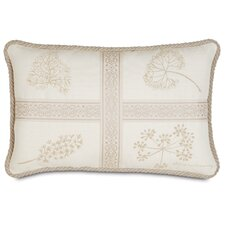 Brookfield Polyester Hand-Painted Decorative Pillow with Cord