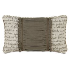 <strong>Eastern Accents</strong> Daphne Polyester Breeze Ruched Insert Decorative Pillow