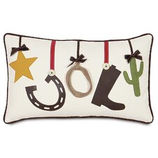 <strong>Eastern Accents</strong> Jingle Bell Rock Party Hop Pillow