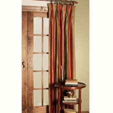 <strong>Eastern Accents</strong> Memoir Harvest Three-Finger Cotton Pleated Curtain Single Panel