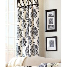Evelyn Cotton Rod Pocket Curtain Single Panel
