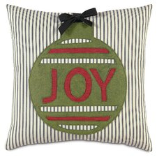 Fa La La Ornament Joy Pillow
