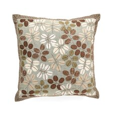 Cambium Polyester Decorative Pillow with Mitered Border