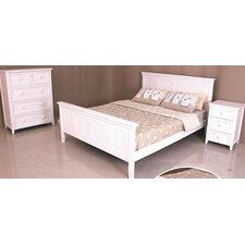 Newbury 4 Piece Queen Bedroom Suite in White