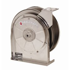 "35-Foot (3/8"") 500 PSI SS Air / Water Reel without Hose"