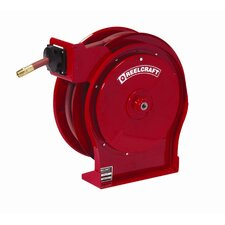 "0.5"" x 25', 300 psi, Premium Duty Air / Water Reel with Hose"