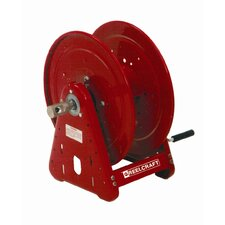 "0.75"" x 50', 1000 psi, Handcrank Air / Water Reel without Hose"