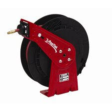 "0.38"" x 50', 300 psi, General Industrial Air / Water Reel with Hose"