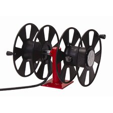 1~2/0 x 150~200', 300 AMP, Dual Side-by-Side Arc Welding Reel without Cable