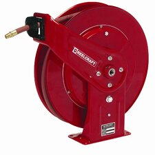 "0.38"" x 70', 300 psi, Heavy Industrial Air / Water Reel with Hose"