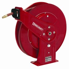 "0.38""x 50', 4000 psi, Heavy Industrial Grease Reel with Hose"