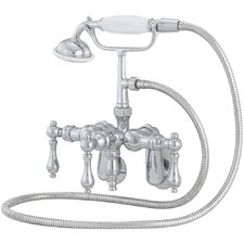 <strong>American Bath Factory</strong> 400 Series Solid Brass Bath Tub Faucet with Swivel Arms
