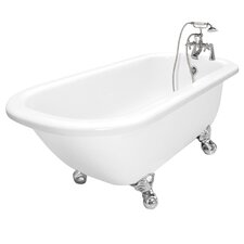 "Maverick 67"" x 30"" AcraStone Traditional Bathtub"