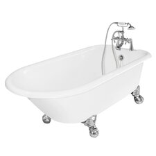 "<strong>American Bath Factory</strong> Windsor 61"" x 31"" Cast Iron Bathtub"