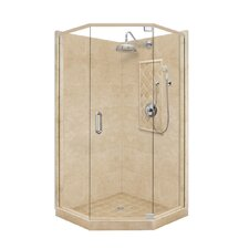 <strong>American Bath Factory</strong> Grand Neo-Angle Door Shower Enclosure