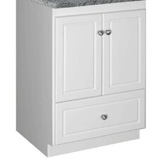 "<strong>Strasser Woodenworks</strong> Simplicity 24"" Bathroom Vanity Base"