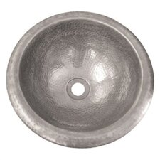 Hammerwerks Self Rimming Petite Round Bathroom Sink