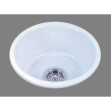 "<strong>Bates & Bates</strong> Ceramics 14.5"" x 14.5"" Selena Bar Sink"