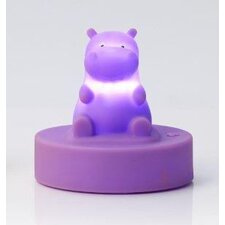 Hippo Figurine Night Light