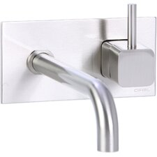 <strong>Cifial</strong> Quadra Wall Mounted Bathroom Sink Faucet with Single Handle