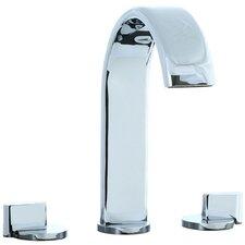 Techno M3 Widespread Double Handle Deck Mount Roman Tub Faucet Trim