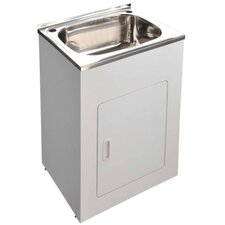 45L Laundry Tub and Cabinet - 63cm