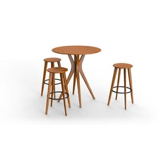 Mimosa 4 Piece Pub Table Set