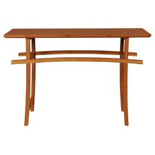 Cosmos Console Table in Caramelized Finish