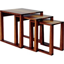 <strong>Greenington</strong> Magnolia 3 Piece Bamboo Nesting Tables