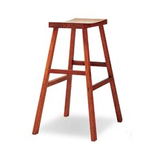 "30"" Bar Height Holly Bamboo Stool in Caramelized Finish"