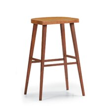 "30"" Exotic Salix Bar Stool"