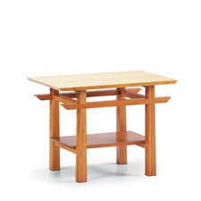 Lotus End Bamboo Table