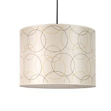 Meridian 2 Light Large Drum Pendant