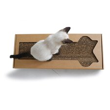 Lil' PawPaw Modern Cardboard Scratching Board