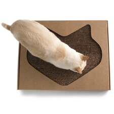 Kittypod Paw Paw Modern Recycled Paper Scratching Board