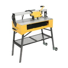 "<strong>QEP</strong> 9.2 Amp 1.5 HP 120 V 8""  Blade Capacity Wet Bridge Saw"