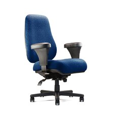 <strong>Neutral Posture</strong> Big and Tall Extra Large Back Task Chair with Extra Large Seat and Minimal Contour